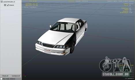 Toyota Mark II JZX100 Tunable para GTA 5