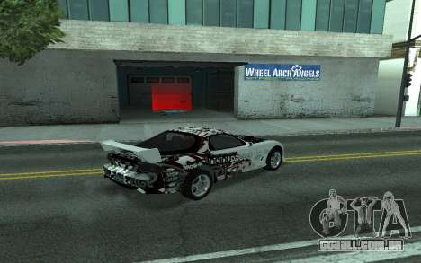 Mazda RX-7 Tunable para GTA San Andreas vista interior