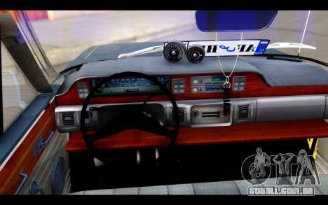 Peykan 1347 Classic para GTA San Andreas traseira esquerda vista