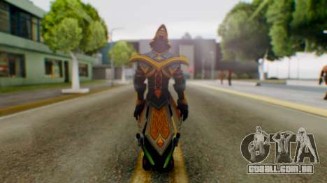 Masteryi League of Legends Skin para GTA San Andreas terceira tela