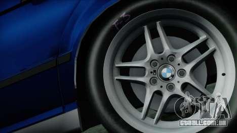 BMW M5 E34 US-spec 1994 (Full Tunable) para GTA San Andreas traseira esquerda vista