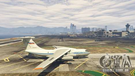 GTA 5 O IL-76 v1.1 segundo screenshot