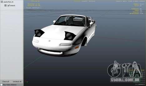 Mazda Miata MX5 Stance edition para GTA 5