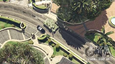 GTA 5 K2 Black Panther vista lateral direita