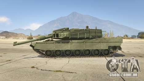GTA 5 K2 Black Panther vista lateral esquerda