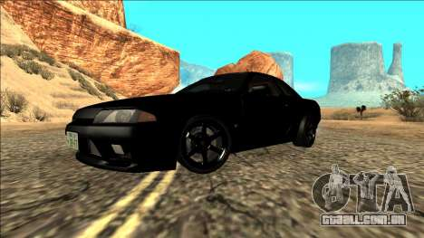 Nissan Skyline R32 Drift para GTA San Andreas vista interior