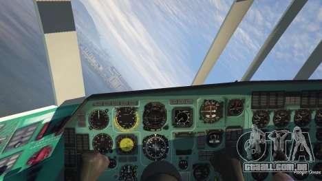 GTA 5 O IL-76 v1.1 quinta imagem de tela