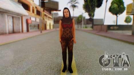 WWE Aksana para GTA San Andreas segunda tela