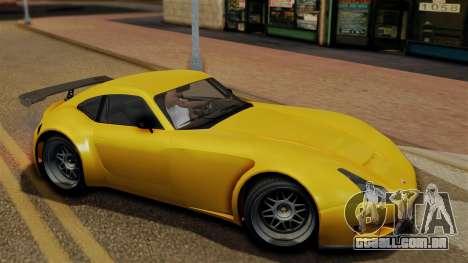 GTA 5 Bravado Verlierer para GTA San Andreas traseira esquerda vista