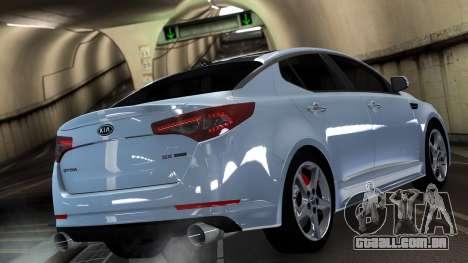 Kia Optima para GTA 4 traseira esquerda vista