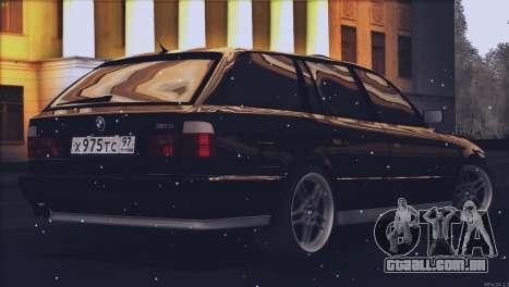 BMW M5 E34 Touring 1995 para GTA San Andreas esquerda vista