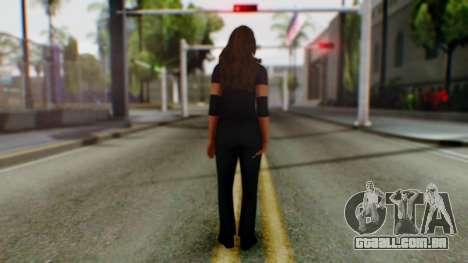 Stephani WWE para GTA San Andreas terceira tela
