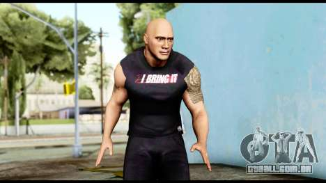 WWE The Rock 2 para GTA San Andreas