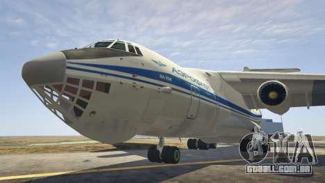 O IL-76 v1.1 para GTA 5