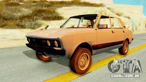 Fiat 132 para GTA San Andreas