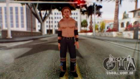 Heath Slater para GTA San Andreas segunda tela