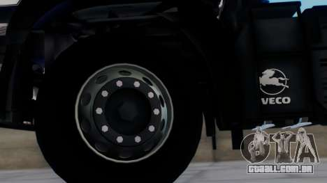 Iveco EuroTech v2.0 para GTA San Andreas traseira esquerda vista