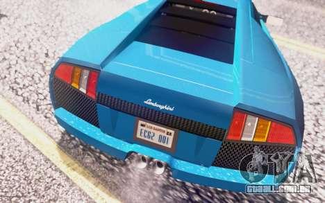 Lamborghini Murcielago 2005 para o motor de GTA San Andreas