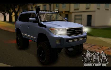 Toyota Land Cruiser 200 2013 Off Road para GTA San Andreas