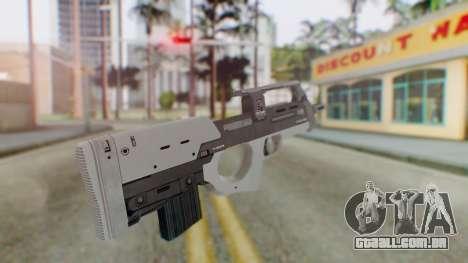 GTA 5 Assault SMG - Misterix 4 Weapons para GTA San Andreas segunda tela