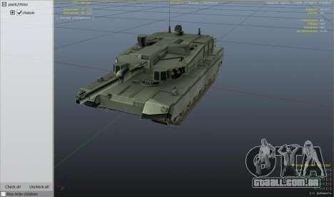 GTA 5 K2 Black Panther vista de cima
