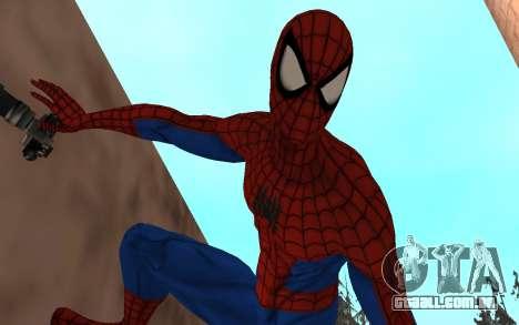 Amazing Spider-Man Versão Cômica por Robinosuke para GTA San Andreas