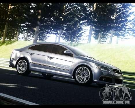 Volkswagen Passat CC para GTA 4 vista direita