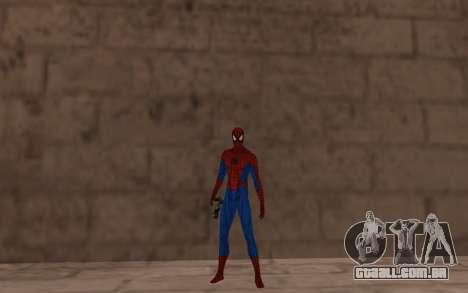 Amazing Spider-Man Versão Cômica por Robinosuke para GTA San Andreas terceira tela