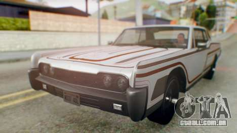 GTA 5 Vapid Chino Tunable para o motor de GTA San Andreas