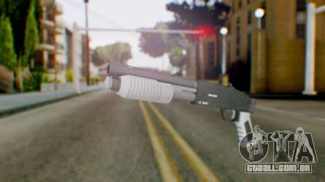 GTA 5 Sawed-Off Shotgun - Misterix 4 Weapons para GTA San Andreas
