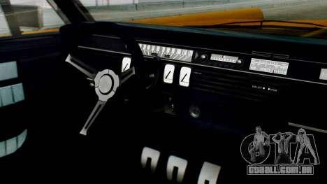 GTA 5 Vapid Chino Tunable para GTA San Andreas vista direita