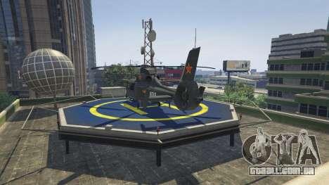GTA 5 Harbin Z-9 terceiro screenshot