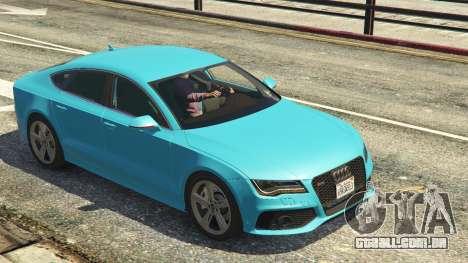 GTA 5 Audi RS7 voltar vista
