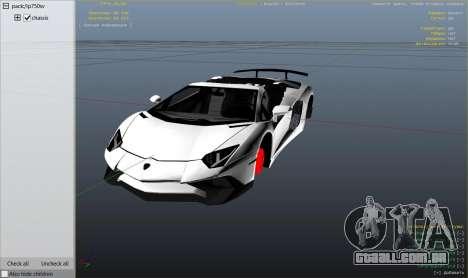 2016 Lamborghini Aventador LP750-4 Superveloce para GTA 5