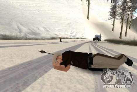 Tiro com arco para GTA San Andreas por diante tela