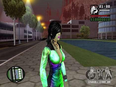 Christie Doa Changed v1.0 para GTA San Andreas