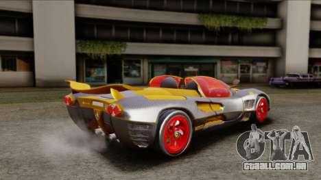 Ferrari P7 Carbon para GTA San Andreas esquerda vista
