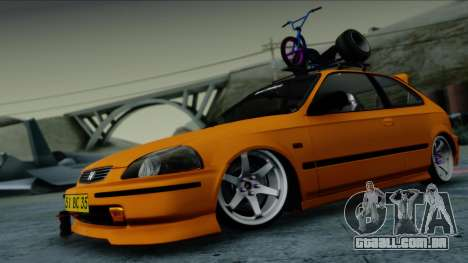 Honda Civic BC YAPIM para GTA San Andreas