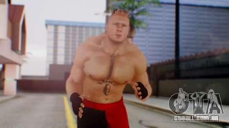 Brock Lesnar para GTA San Andreas