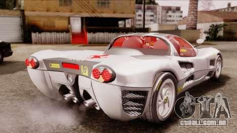 Ferrari P7 Horse para GTA San Andreas esquerda vista