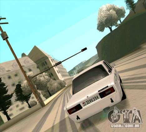 VAZ 2106 [ARM] para GTA San Andreas vista direita