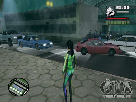 Christie Doa Changed v1.0 para GTA San Andreas segunda tela