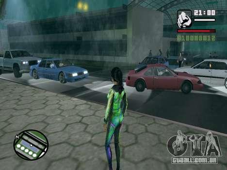Christie Doa Changed v1.0 para GTA San Andreas segunda tela