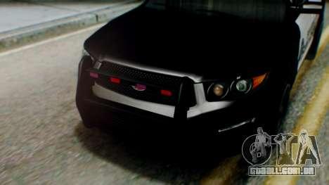 GTA 5 Police SF para GTA San Andreas vista direita