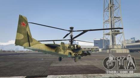 GTA 5 Ka-52 Alligator terceiro screenshot