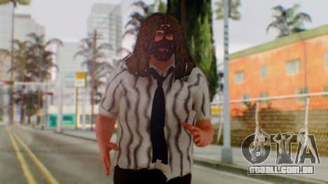 WWE Mankind para GTA San Andreas