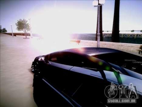Fixo o pôr do sol para GTA San Andreas terceira tela