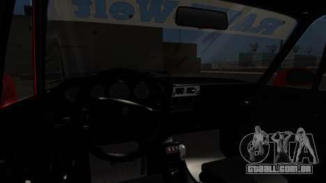 Porsche 993 GT2 RWB Rough Rhythm para GTA San Andreas traseira esquerda vista