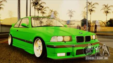 BMW M3 E36 [34RS671] para GTA San Andreas vista direita