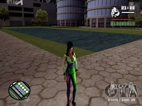 Christie Doa Changed v1.0 para GTA San Andreas terceira tela